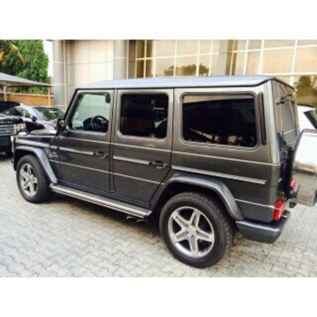 Yemi alade acquires new mercedes benz g wagon 9jagiant for New mercedes benz g wagon